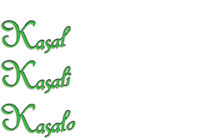 Kasal, Kasali, Kasalo