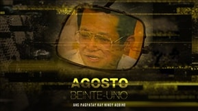 Agosto Beinte-Uno: Ang Pagpatay Kay Ninoy Aquino 20180826