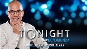 Tonight with Boy Abunda with English Subtitles 20171016