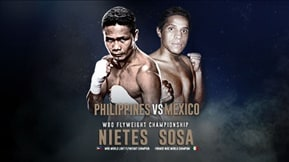 Pinoy Pride 38: Philippines vs Mexico  20160925