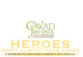 Bayaning Pilipino 2017 North America Special