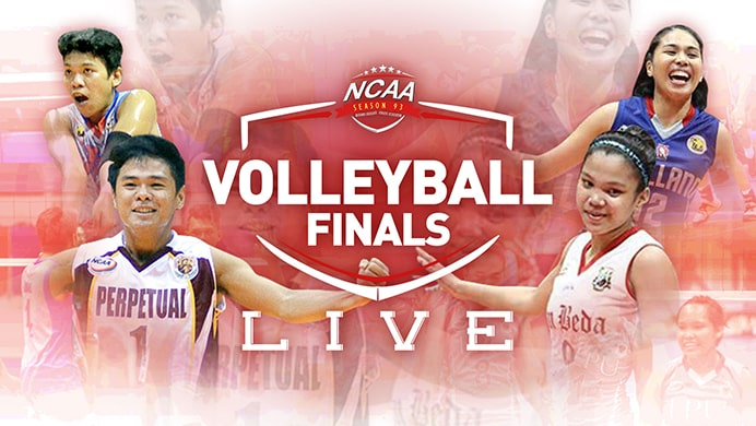 NCAA 93: Volleyball Finals Live