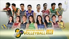 UAAP 80: Volleyball Live