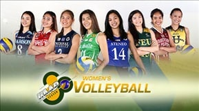 UAAP 80: Women's Volleyball 20180502