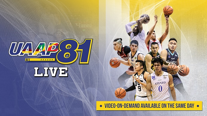 UAAP 81: Men's Basketball Live