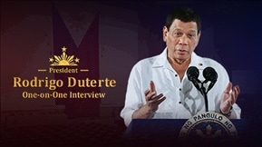 President Rodrigo Duterte's One-on-One Interview 20180911