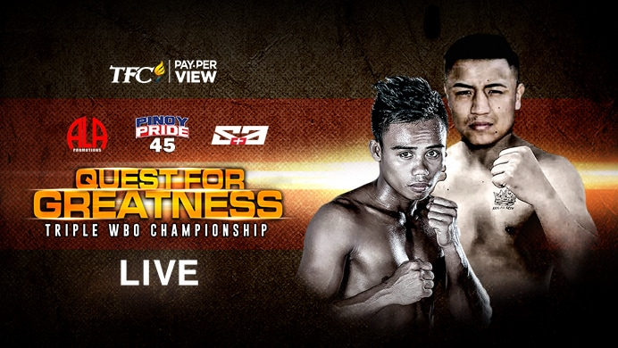 Pinoy Pride 45: Quest for Greatness Live