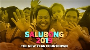 Salubong 2019: The New Year Countdown 20181231