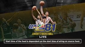 UAAP 81: Juniors Basketball Live 20190215