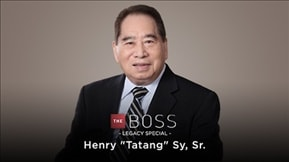 The Boss Legacy Special: Henry Sy, Sr. 20190131