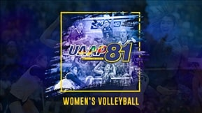 UAAP 81: Women's Volleyball-VOD 20190220
