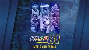 UAAP 81: Men's Volleyball VOD 20190515