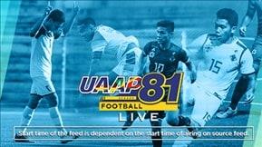 UAAP 81: Men's Football-LIVE