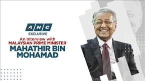 ANC Exclusive: An Interview with Malaysian Prime Minister 20190308