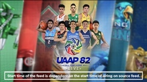 UAAP 82: Men's Basketball LIVE