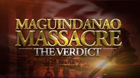 Maguindanao Massacre: The Verdict 20191219