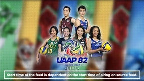 UAAP 82: Volleyball Live 20200303