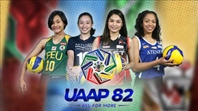 UAAP 82: Women's Volleyball VOD 20200308