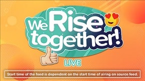 We Rise Together Live