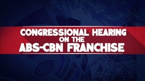 Congressional Hearing on the ABS-CBN Franchise 20200710