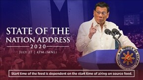 State of the Nation Address 2020 20200727
