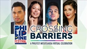 Crossing Barriers: A Philfest Mississuga Virtual Celebration 20210912