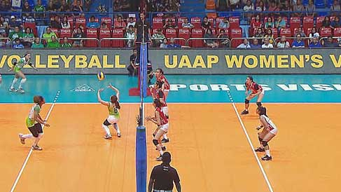 UAAP 80: Women's Volleyball