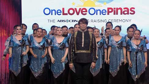 One Love, One Pinas: The ABS-CBN Flag Raising Ceremony