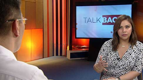 Talkback with Tina Palma