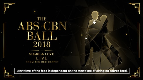 The ABS-CBN Ball 2018: Red Carpet Coverage Live