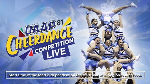 UAAP 81: Cheerdance Competition Live