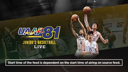 UAAP 81: Juniors Basketball Live