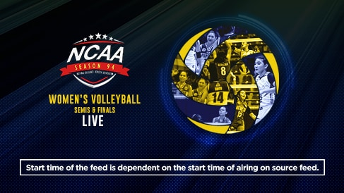 NCAA 94: Womens Volleyball Semis & Finals