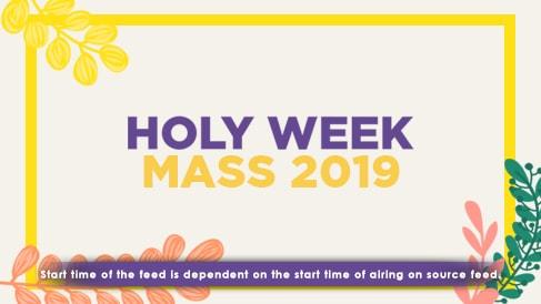 Kapamilya Holy Week Live