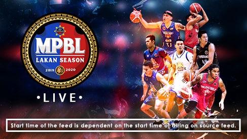 MPBL Lakan Season Live