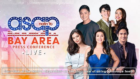 ASAP Natin 'To Bay Area PressCon LIVE