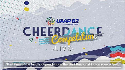 UAAP 82: Cheerdance Competition Live