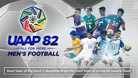 UAAP 82: Men's Football LIVE
