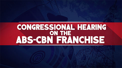 Congressional Hearing on the ABS-CBN Franchise LIVE