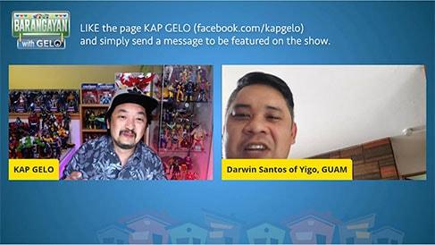 Barangayan with Gelo